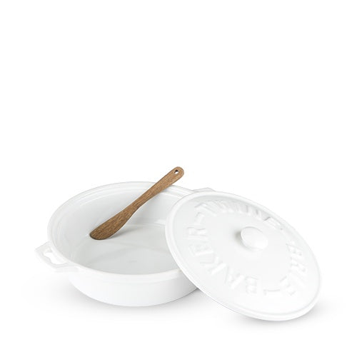 Ceramic Brie Baker & Spreader