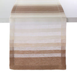 Gradient Stripe Beige 90-Inch Runner