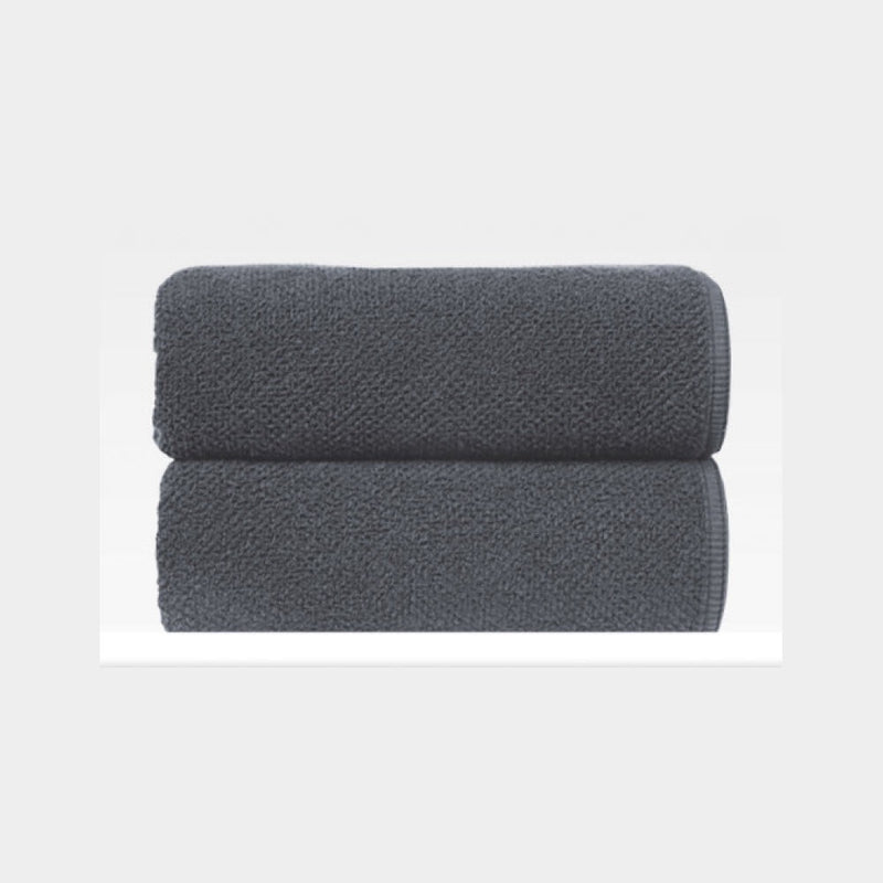 Bee Waffle Dark Anthracite Towel
