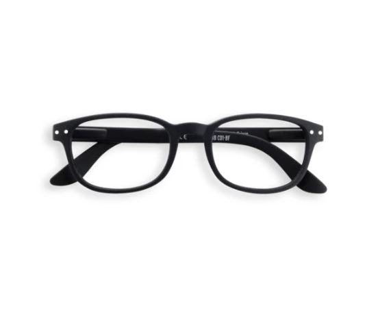 Rectangular #B Black Reader