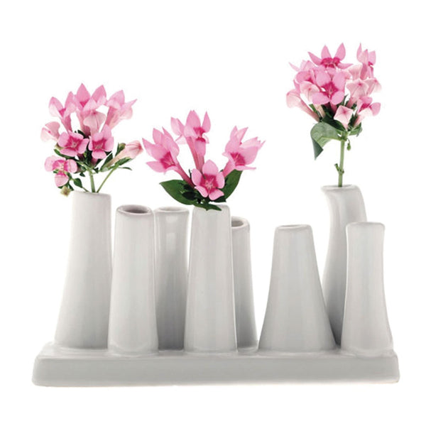 Pooley 2 White Vase