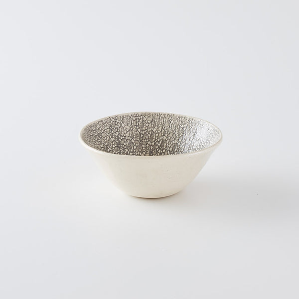 Pudding Bowl Print Black