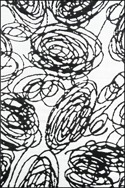 Doodles Black & White Mat