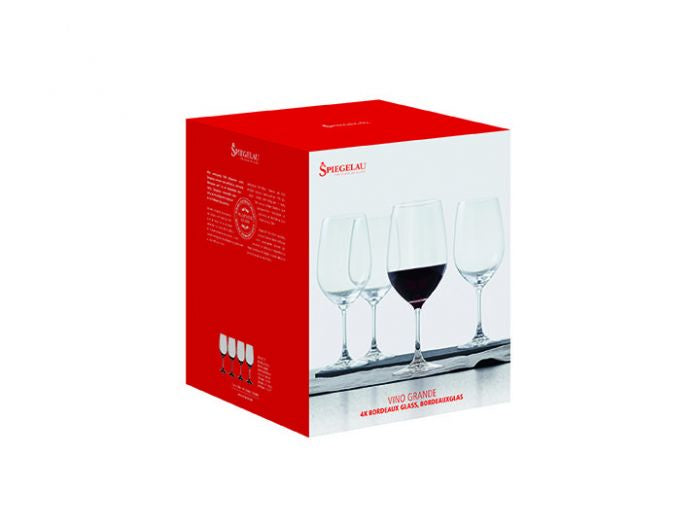Vino Grande Bordeaux Wine Set of 4