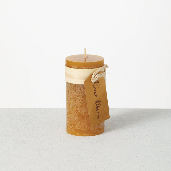 Brown Sugar Timber Pillar Candle