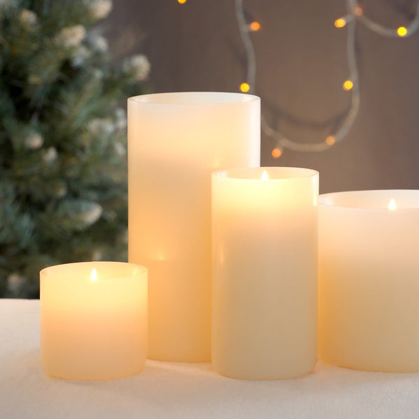 Luminary Ivory 3 x 3-Inch Candle