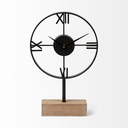 Oris Roman Numeral Table Clock