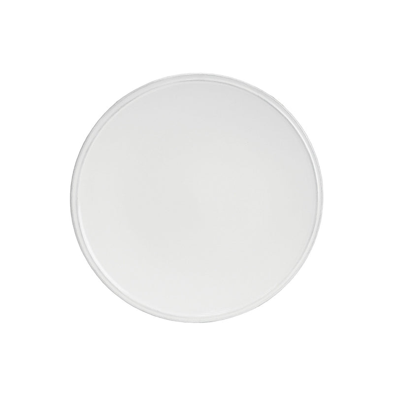 Friso White Salad Plate