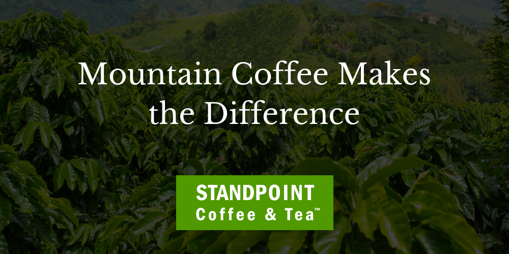 Coffee Conversation #1: Mountain Coffee Makes the Difference