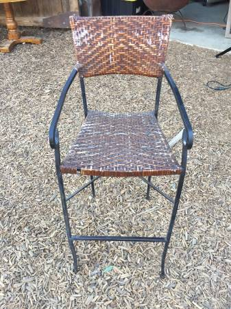 High Seated Wicker Bar Chairs & Chairs - Ranch General Store