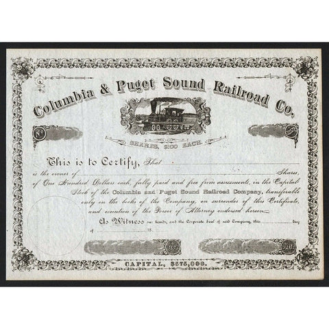 Columbia & Puget Sound Railroad Company