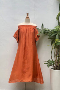 Fae Sundress Terracotta