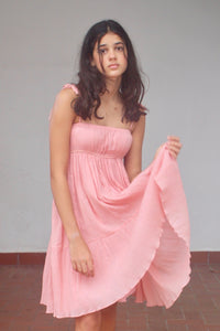 Jasmine Sundress in Pink