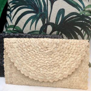 Natural Raffia Clutch Bag, Purse, Resort wear, Beach wear