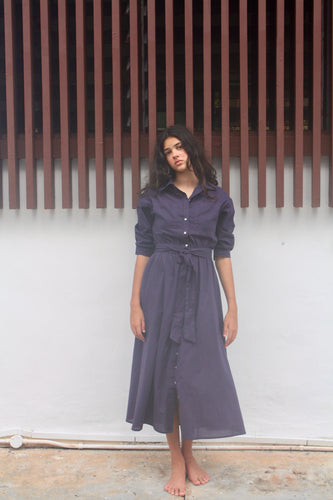 Riviera Shirt Dress Ink