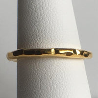 24K Gold Plated Stack Rings / Spacers