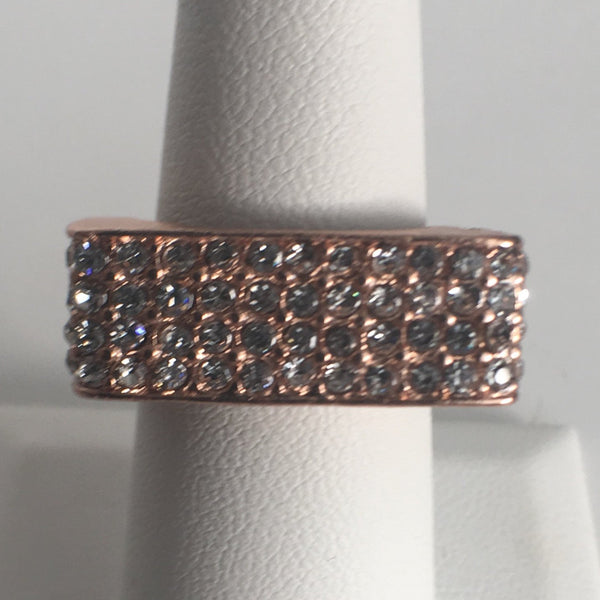 Geometric Rectangular CZ ring