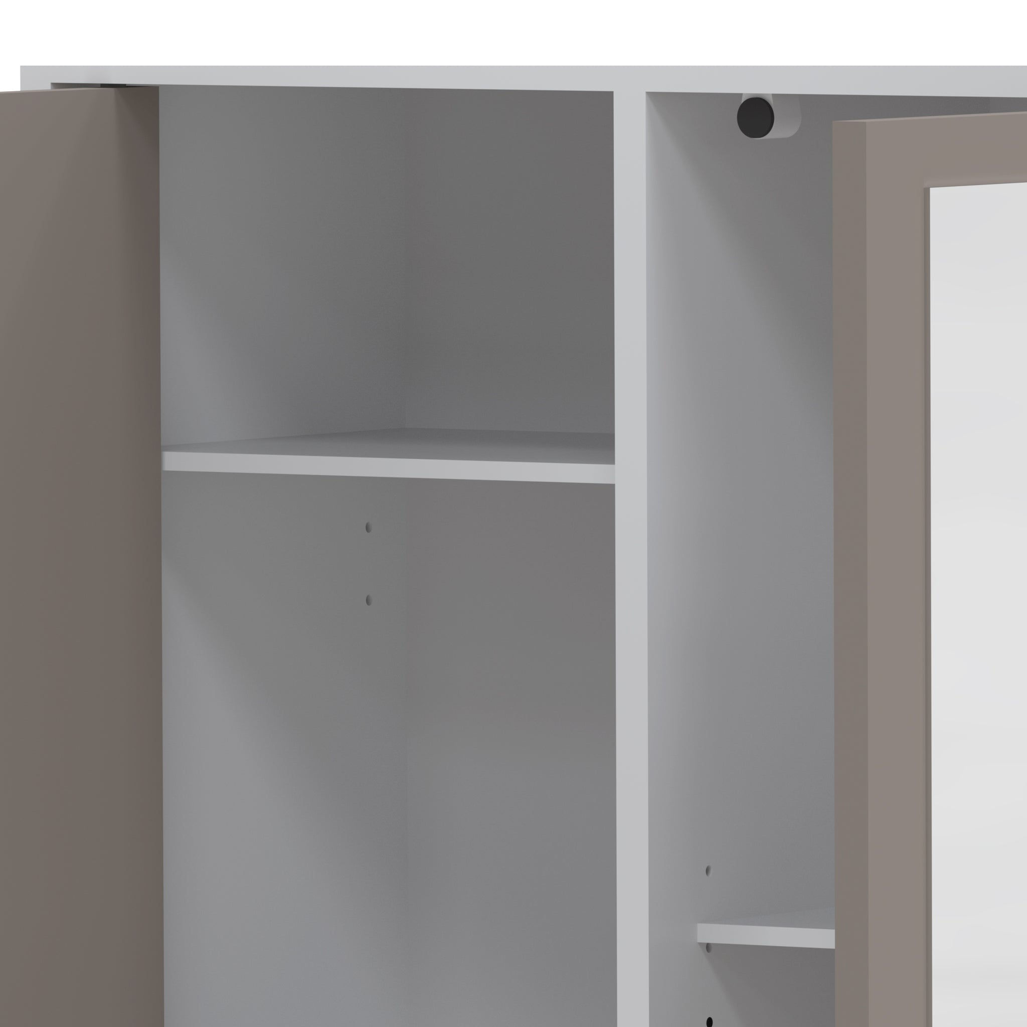 Combi Column with Laundry Compartment