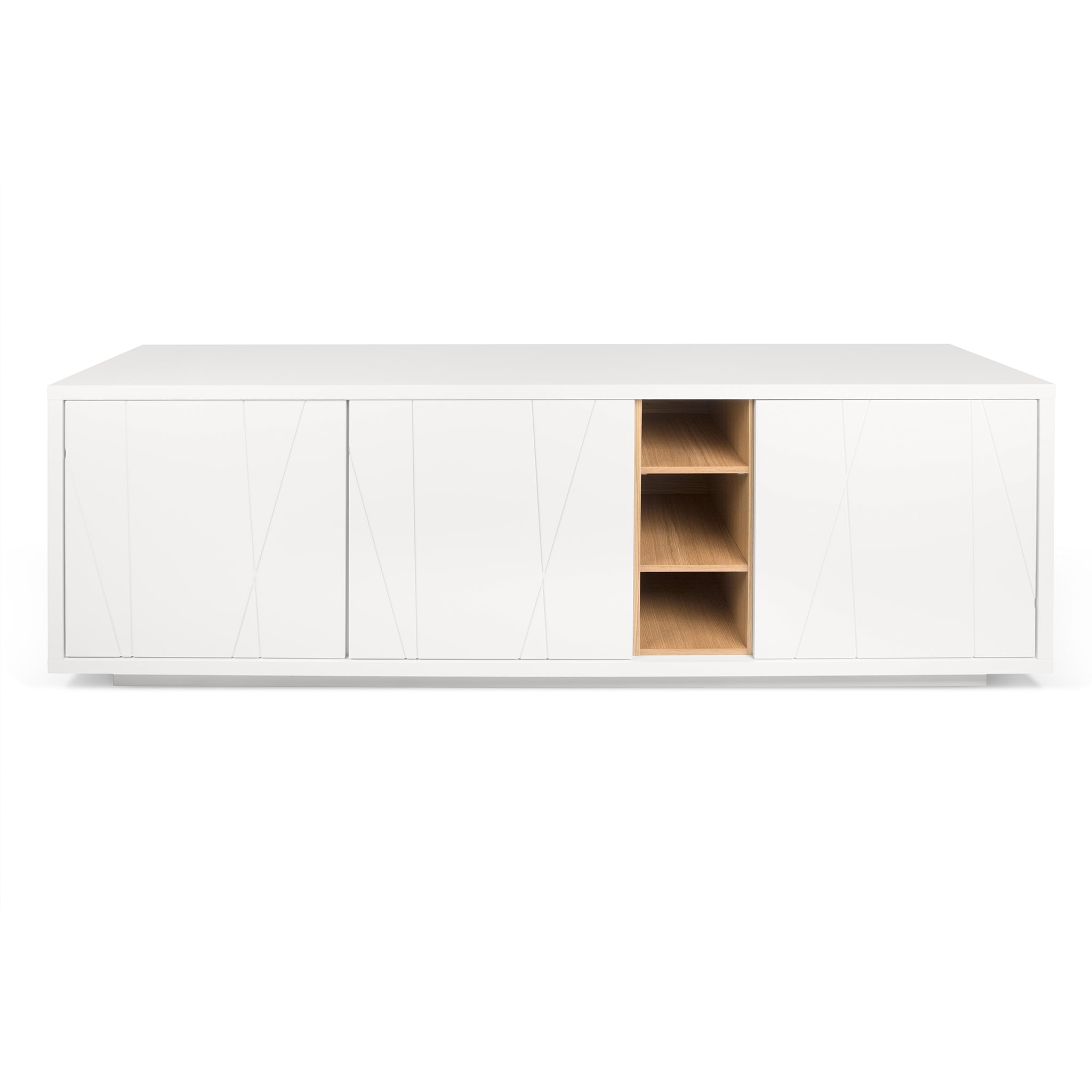 Niche Sideboard with Notched Doors