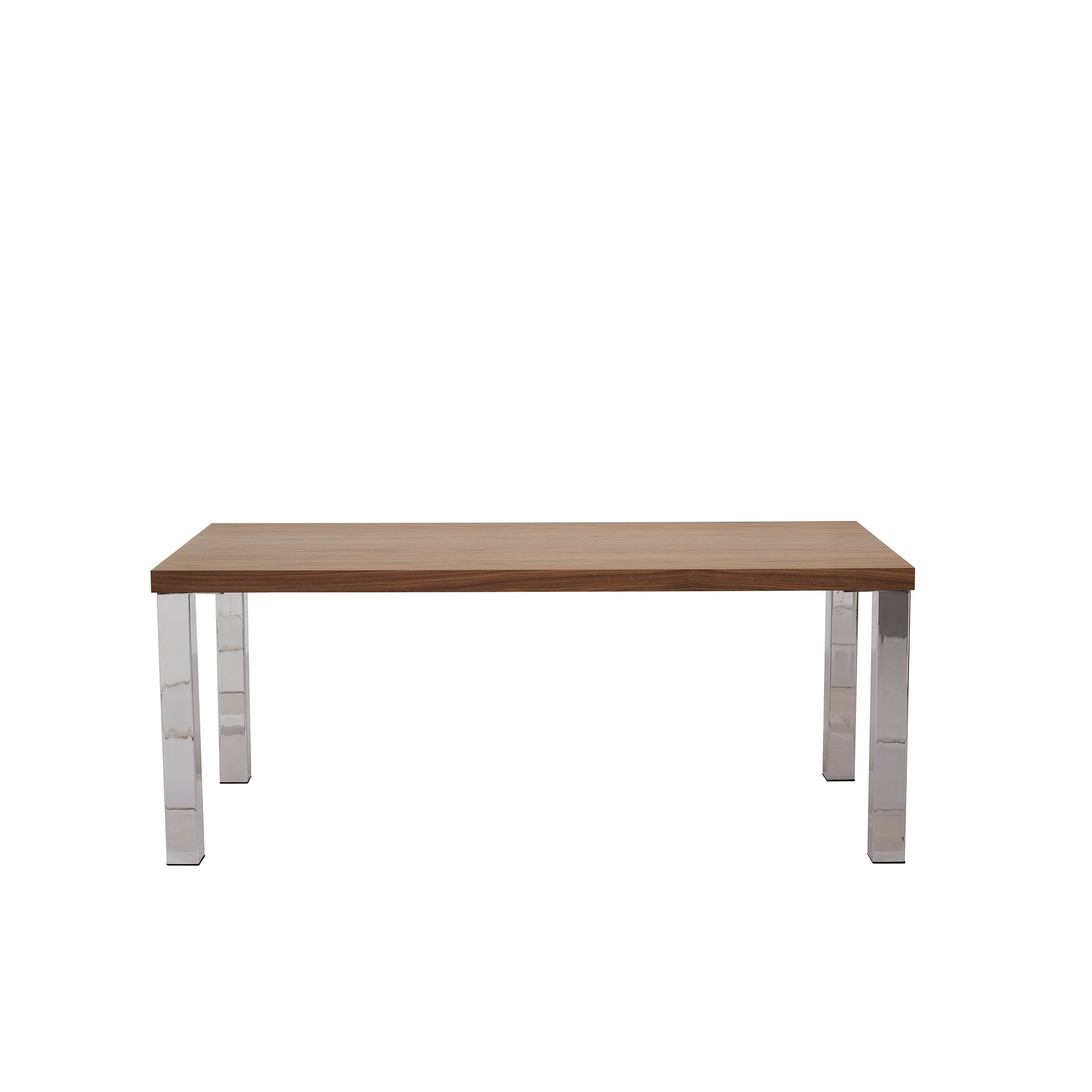 Multi 63 Table with Square Chrome Legs