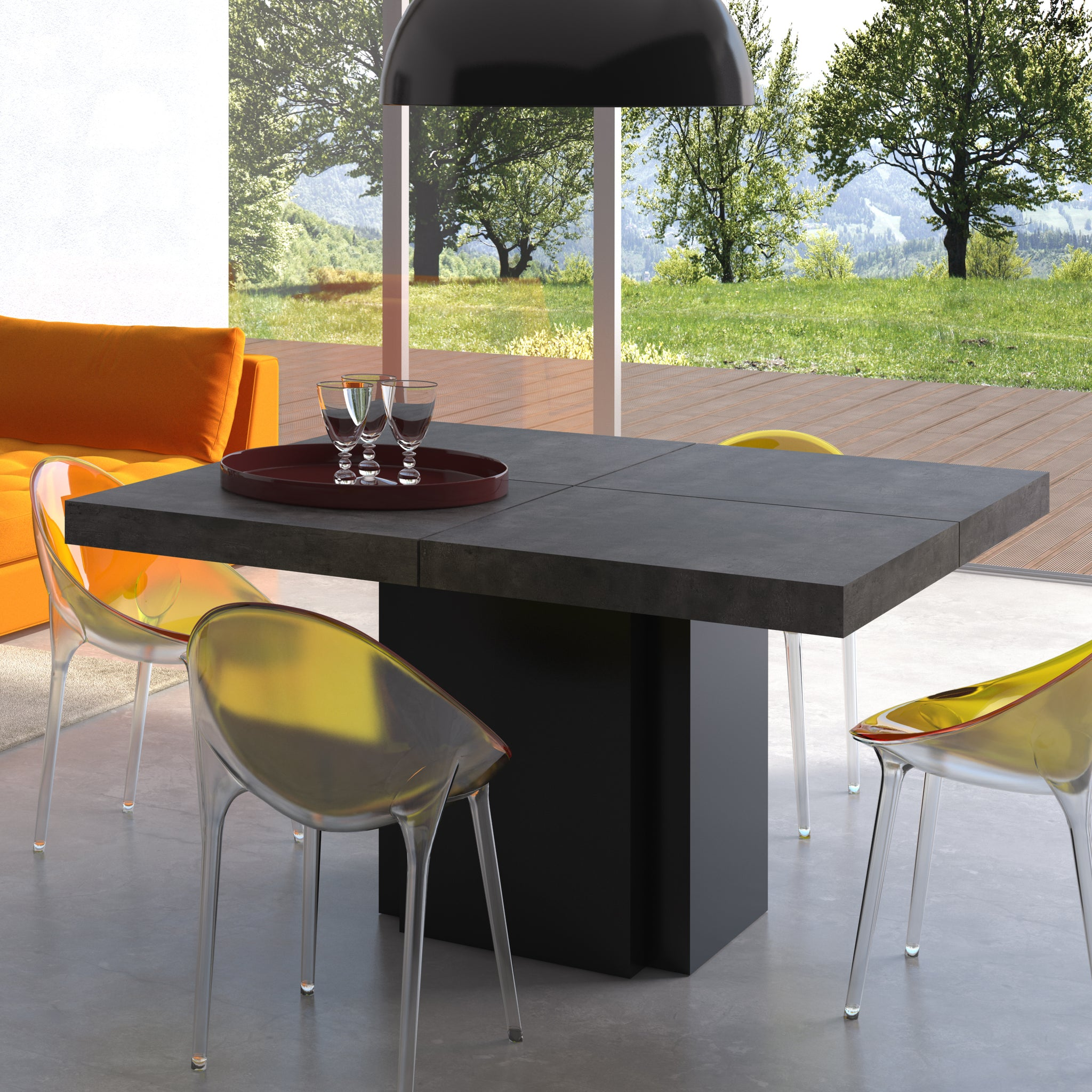 Dusk 59 Dining Table