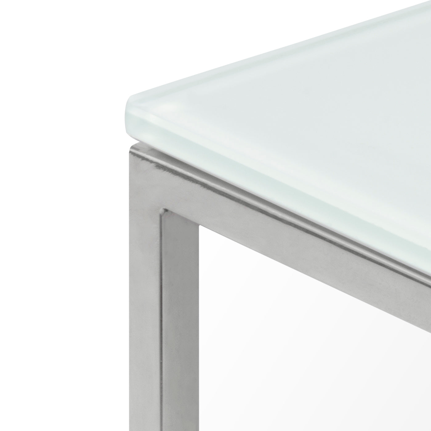 Gleam Glass Side Table