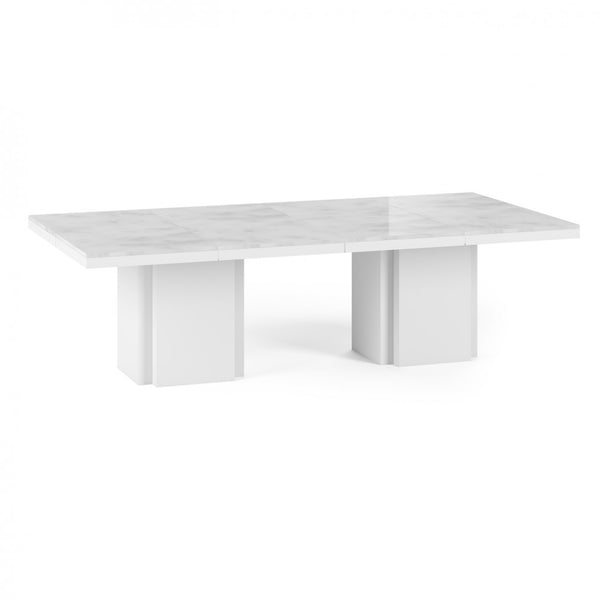 Dusk 51 Marble Dining Table - Set of Two