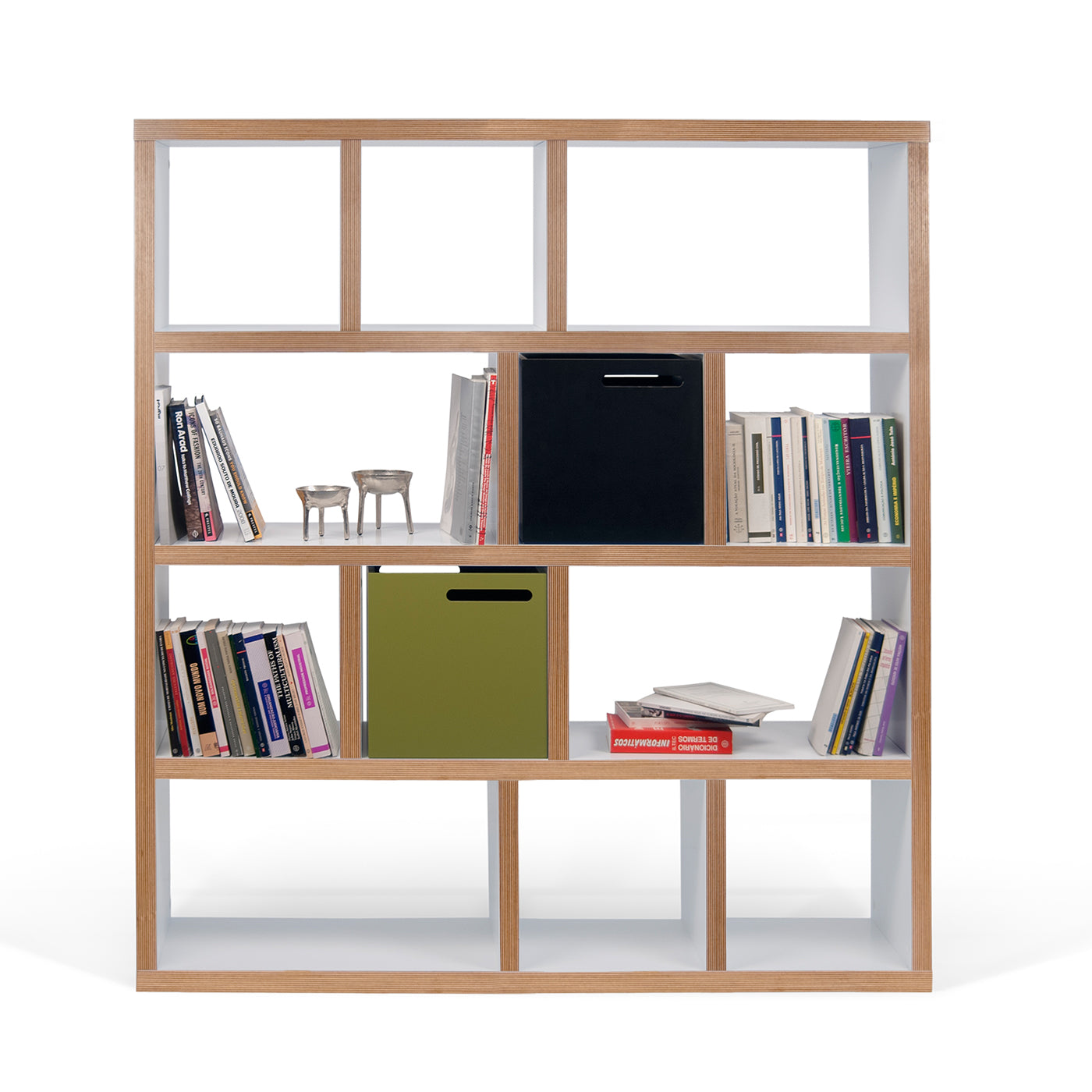 Berlin Large 4 Level Bookcase