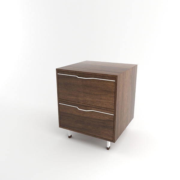 Chapman Walnut Nightstand