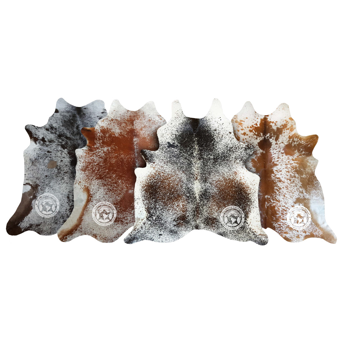 Natural Cowhide Rug - Salt & Pepper Mix