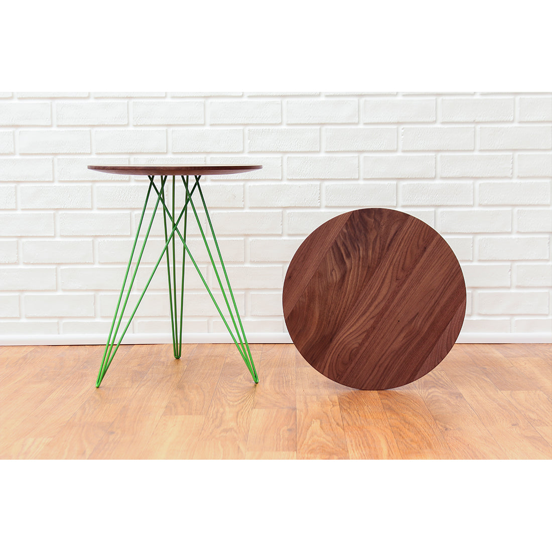 Hudson Walnut Side Table