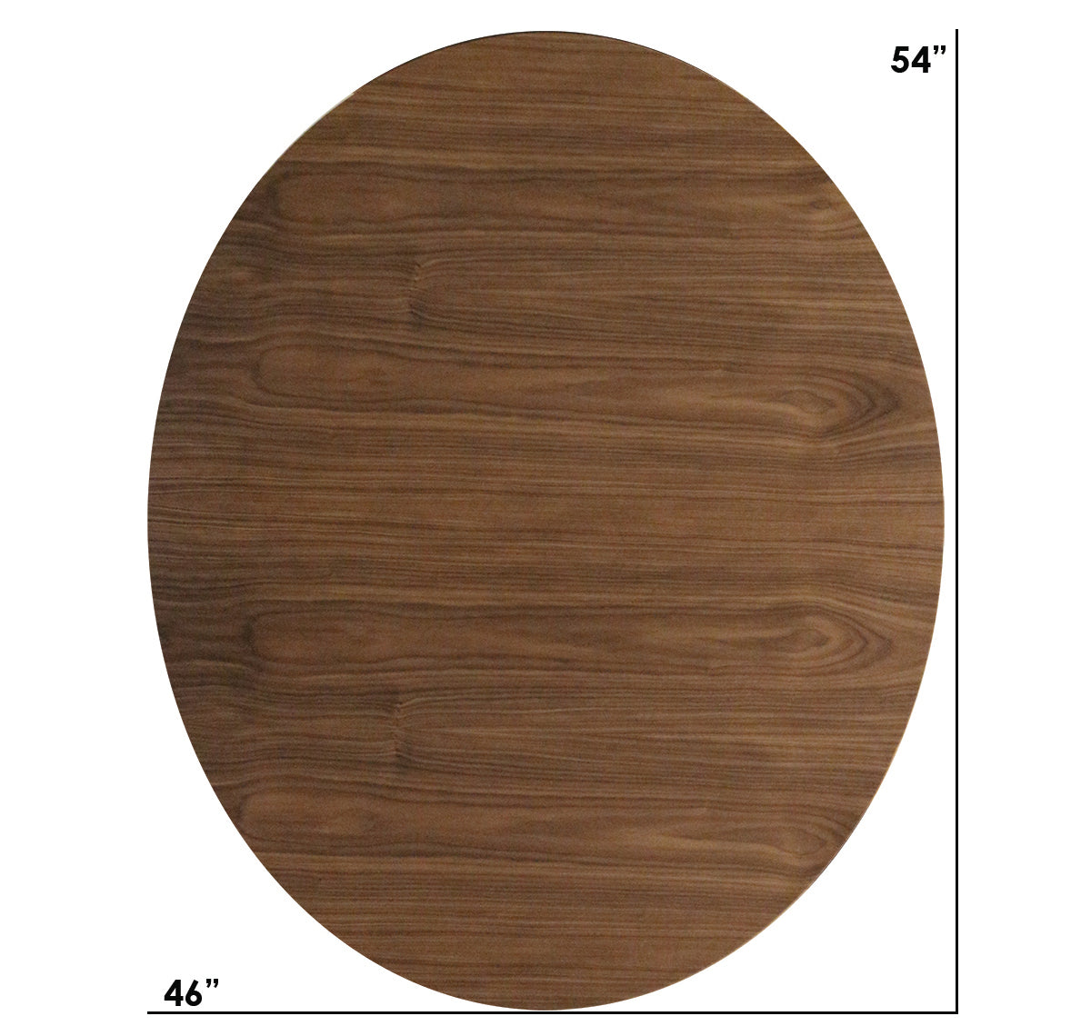 Williams Walnut Large Oval Dining Table
