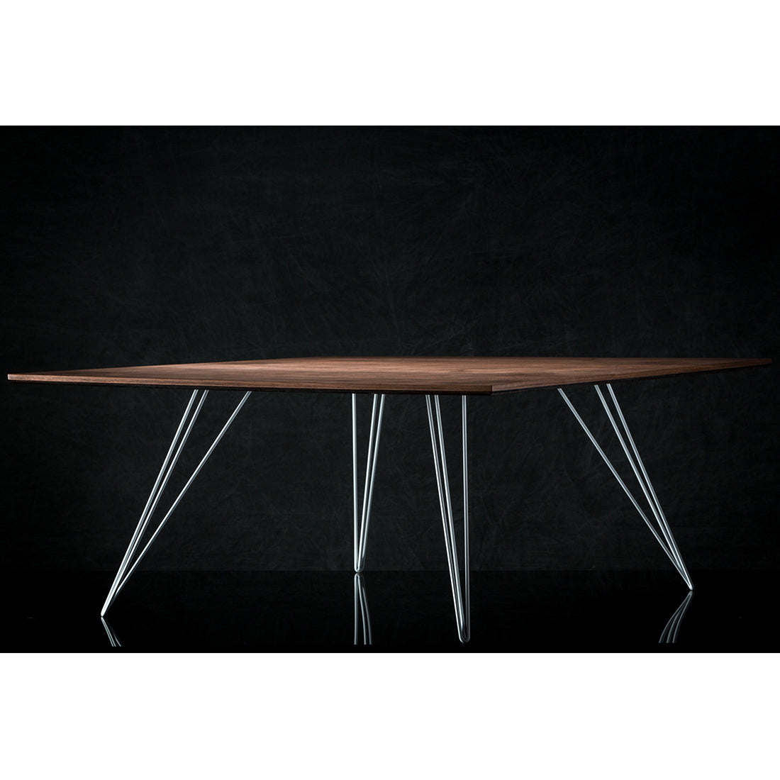 Williams Walnut Large Rectangular Coffee Table