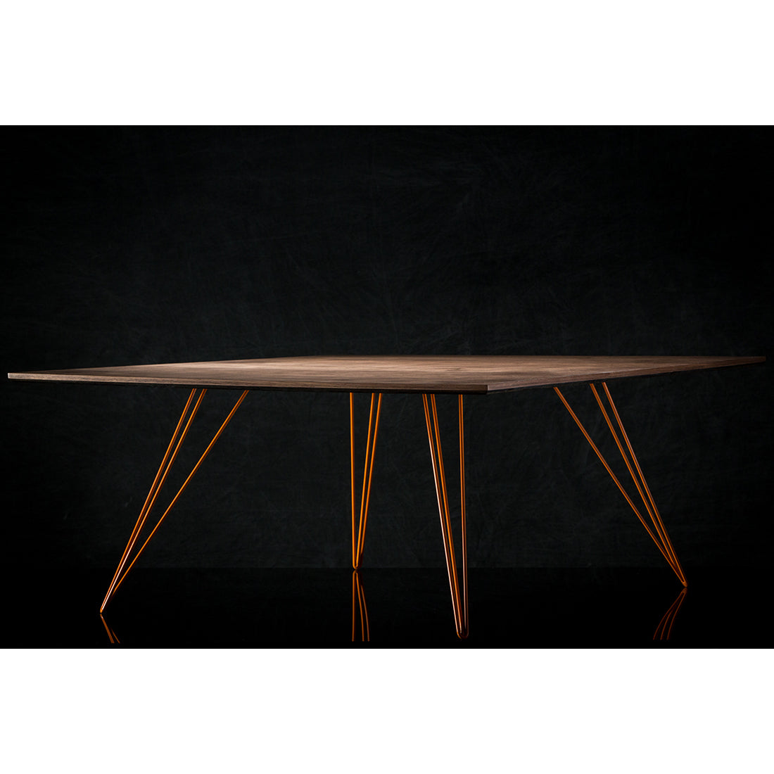 Williams Walnut Large Square Coffee Table