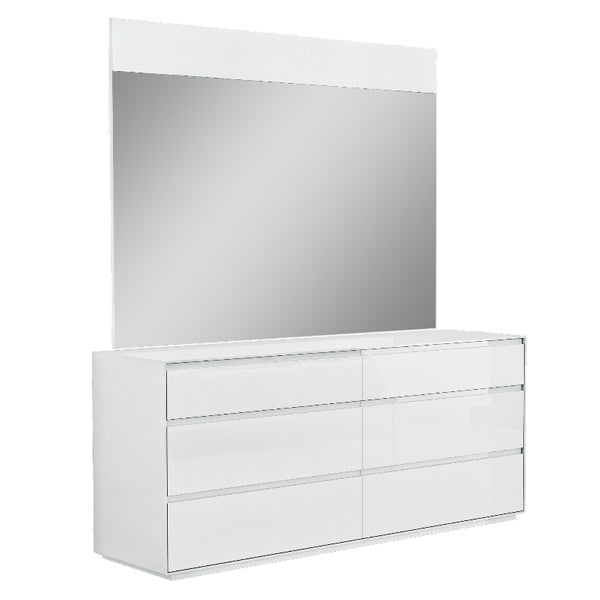 Malibu 6 Drawer Dresser with Optional Mirror