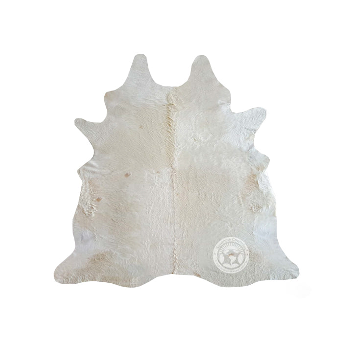 Natural Cowhide Rug - Natural Off White