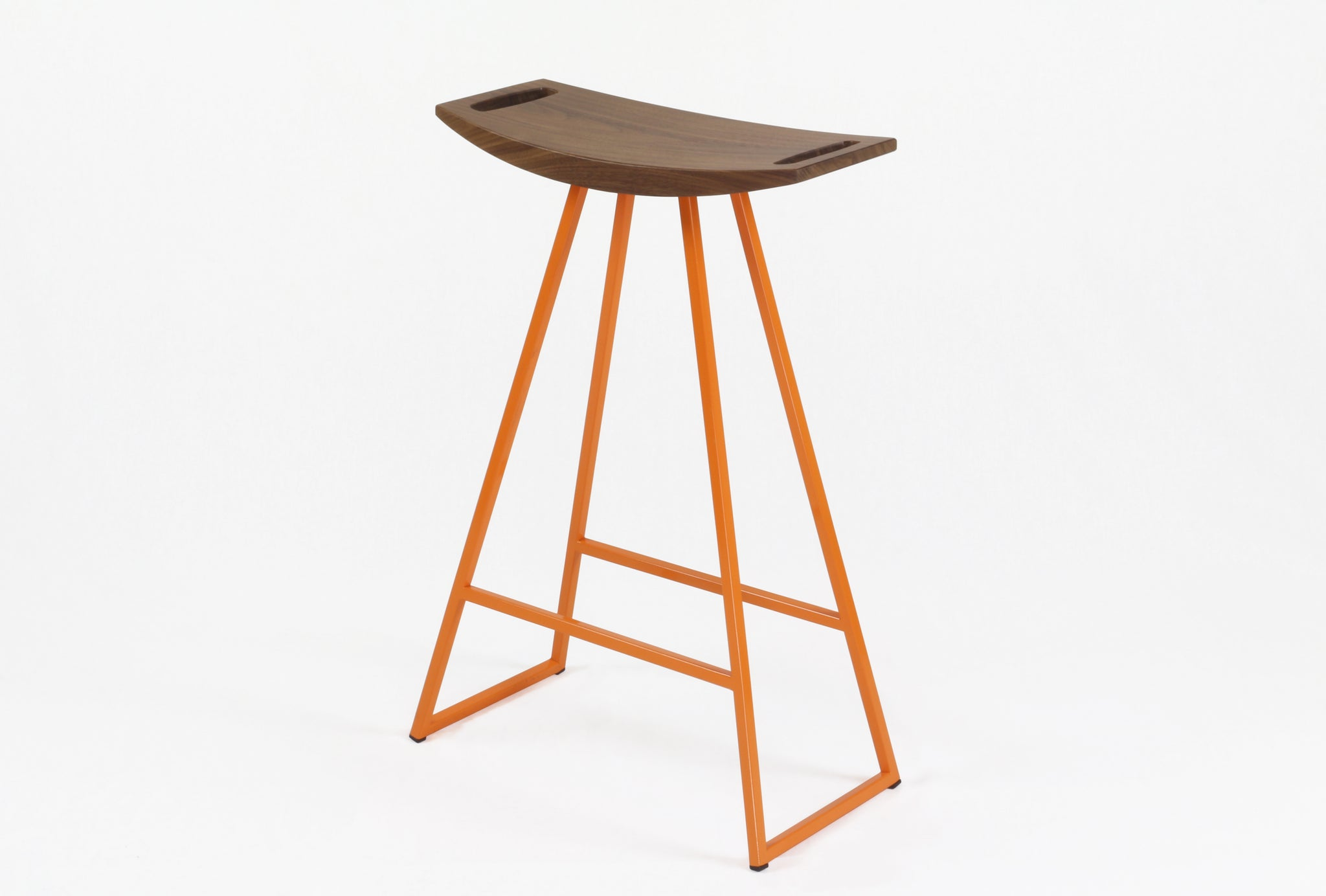 Robert Walnut Counter Stool