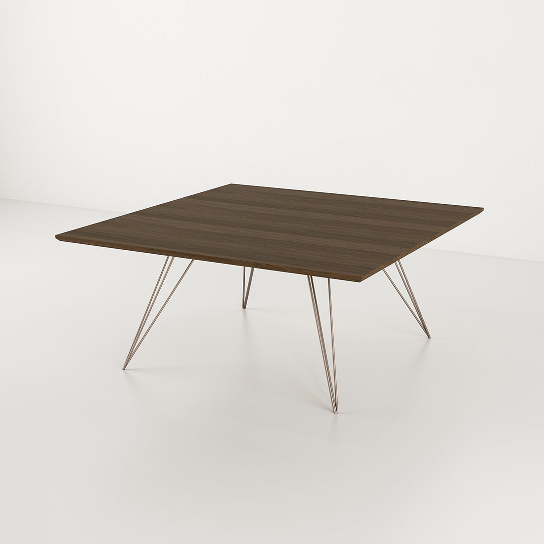 Williams Walnut Small Square Coffee Table