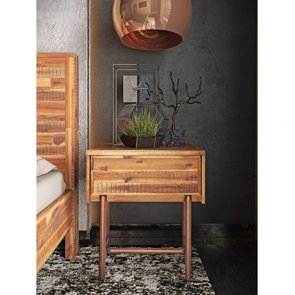 Boone Wooden Nightstand