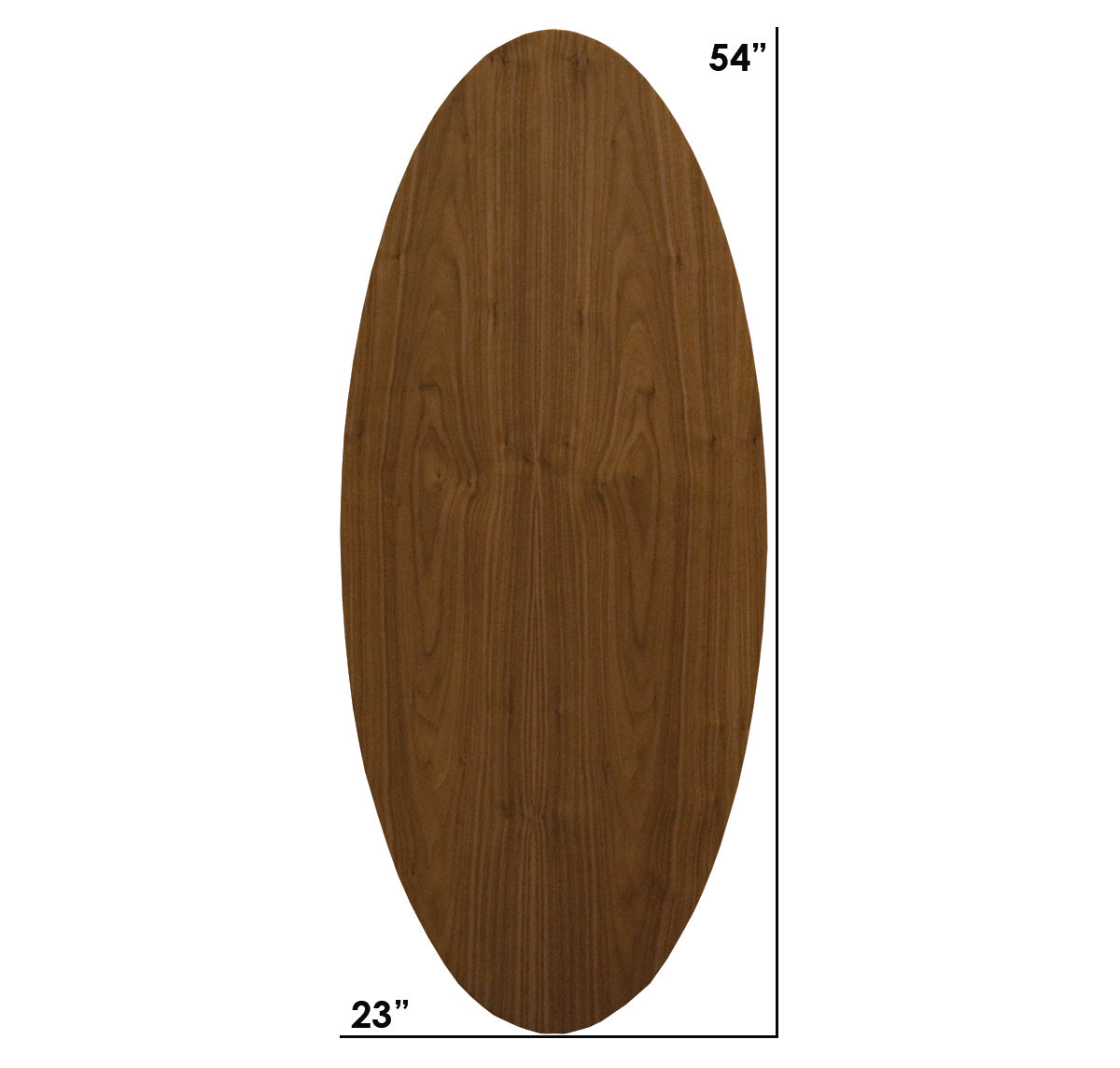 Williams Walnut Extra Small Oval Coffee Table