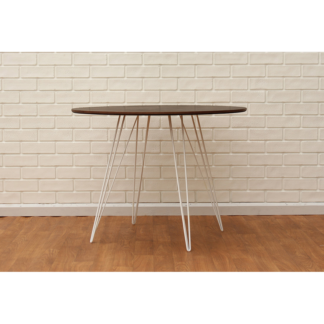 Williams Walnut Small Circle Dining Table