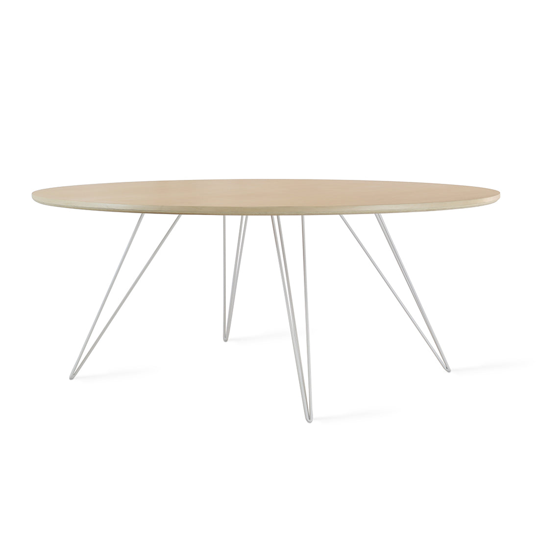 Williams Maple Small Oval Coffee Table