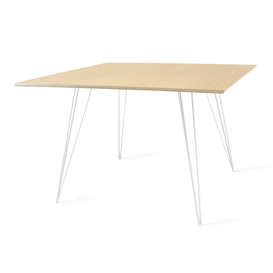 Williams Maple Large Square Dining Table