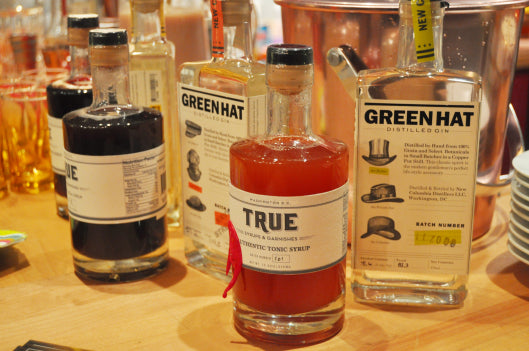 "It's ""GIN-uary""!  Meet the Makers:    New Columbia Distillers & True Syrups"