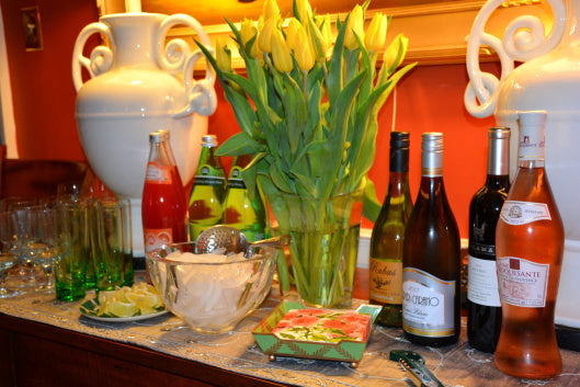 The Springtime Home Bar