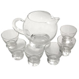 Eva Zeisel Mid Century Vintage Cocktail Pitcher & Glasses Set | The Hour Shop