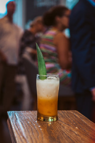 All Chai'ed Up Milk Punch Cocktail | Brett Oye, Brabo | The Hour Shop 9th Anniversary Party