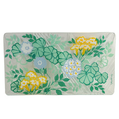 Vintage Georges Briard Bent Glass Floral Tray | The Hour Shop