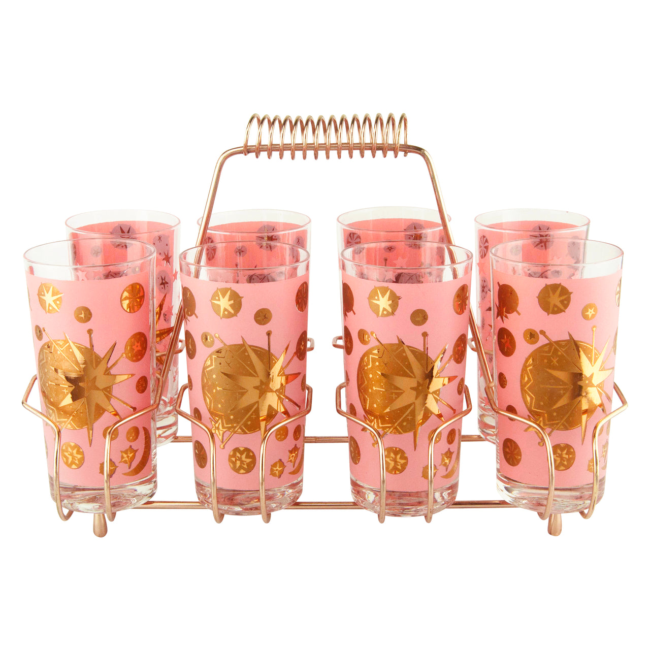 Vintage Starlyte Atomic Pink and Gold Star Collins Caddy | The Hour