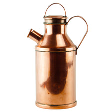 E.W. Allen Copper Milk Jug Cocktail Shaker